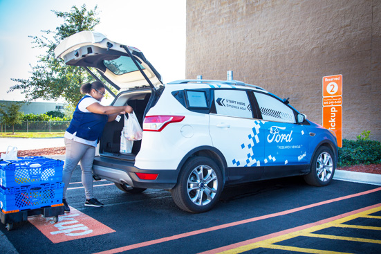 Walmart and Ford pilot autonomous delivery